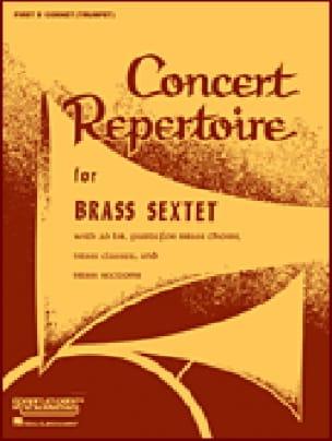 Concert Repertoire For Brass Sextet - Conducteur - laflutedepan.com