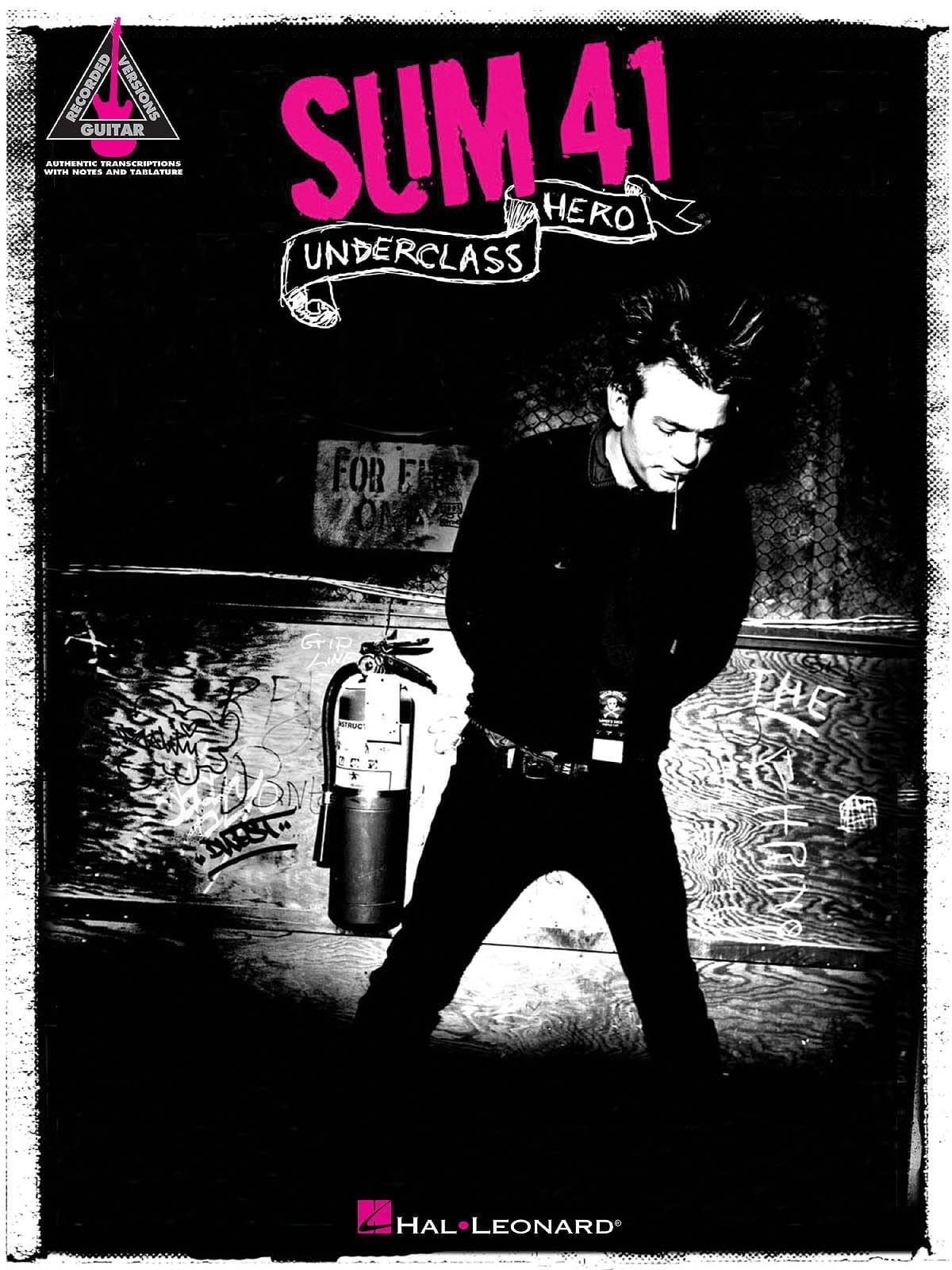 Underclass Hero - Sum 41 - Partition - Pop / Rock - laflutedepan.com