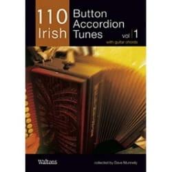 110 Irish Button Accordion Tunes Volume 1 - laflutedepan.com