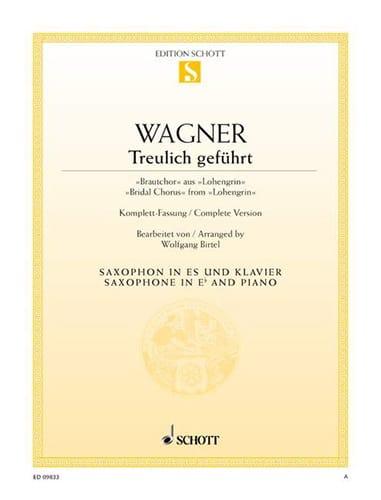 Richard Wagner - Treulich Geführt Lohengrin - Partition - di-arezzo.co.uk