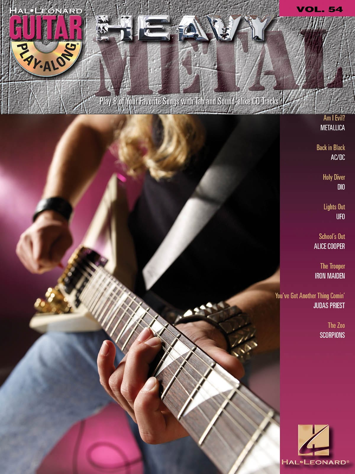 Guitar Play-Along Volume 54 - Heavy Metal - laflutedepan.com