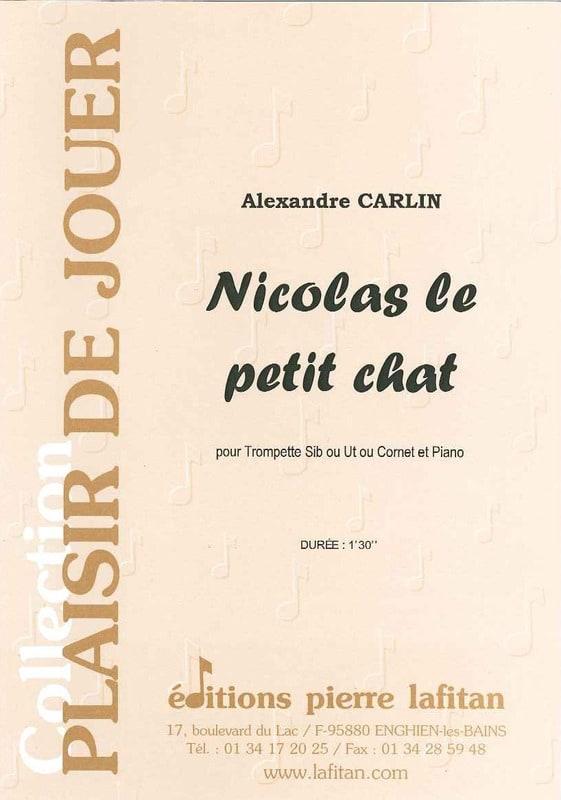 Nicolas le petit chat - Alexandre Carlin - laflutedepan.com