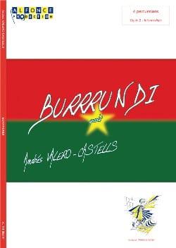 Burrrundi - Andrés Valero-Castells - Partition - laflutedepan.com