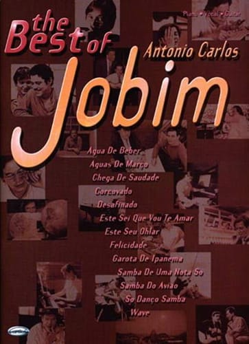 Antonio Carlos Jobim - The Best Of Antonio Carlos Jobim - Partition - di-arezzo.co.uk