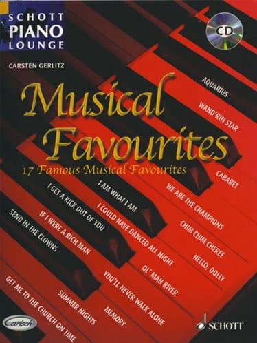 Musical Favourites - Partition - laflutedepan.com