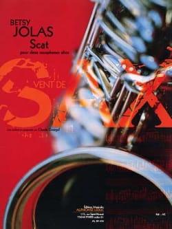 Scat - Betsy Jolas - Partition - Saxophone - laflutedepan.com
