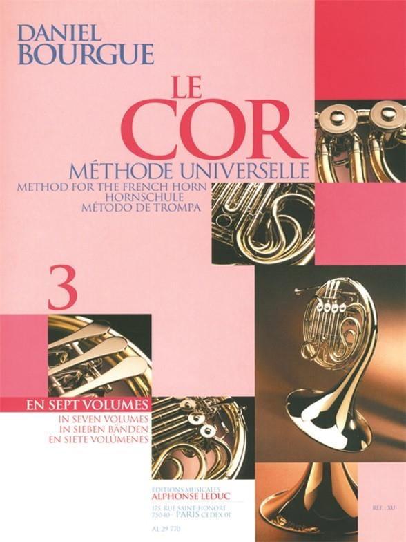Daniel Bourgue - The Cor Universal Method Volumen 3 - Partition - di-arezzo.es