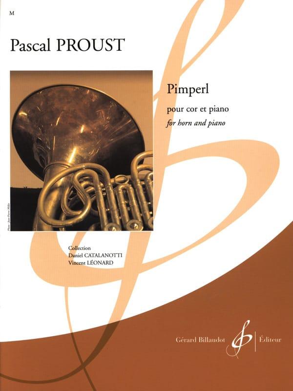 Pimperl - Pascal Proust - Partition - Cor - laflutedepan.com