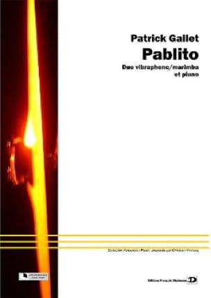 Pablito - Patrick Gallet - Partition - laflutedepan.com