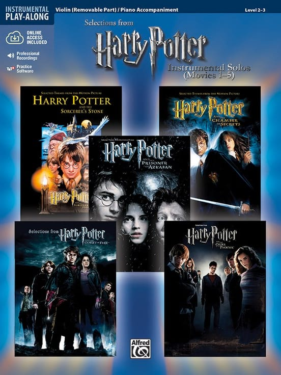 - Harry Potter instrumental solos movies 1-5 - Partition - di-arezzo.com