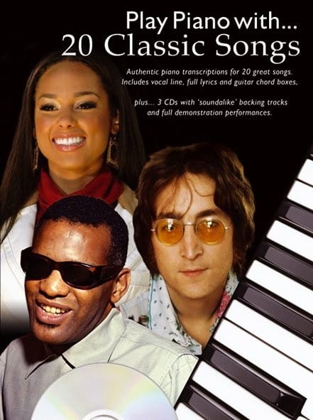 Play Piano With... 20 Classic Songs - Partition - laflutedepan.com