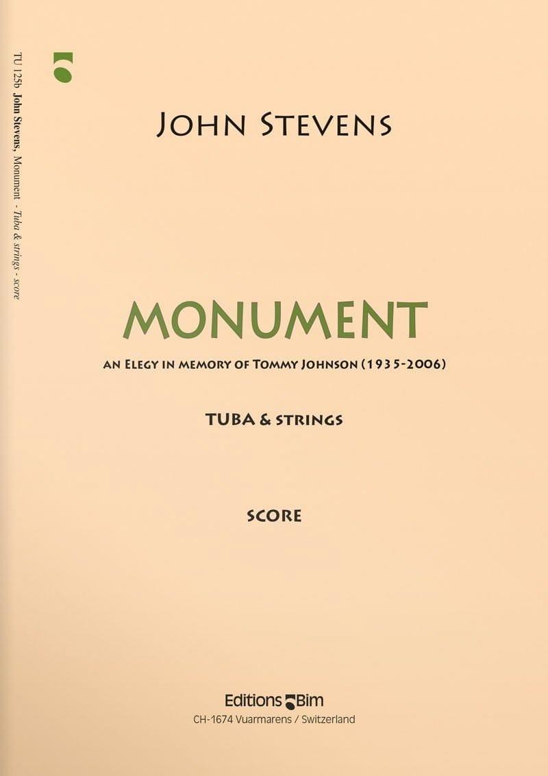 Monument - John Stevens - Partition - Tuba - laflutedepan.com