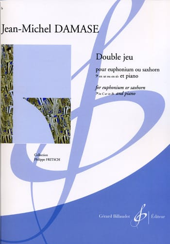 Double Jeu - Jean-Michel Damase - Partition - Tuba - laflutedepan.com