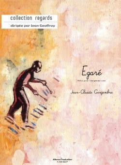 Egaré - Jean-Claude Gengembre - Partition - laflutedepan.com