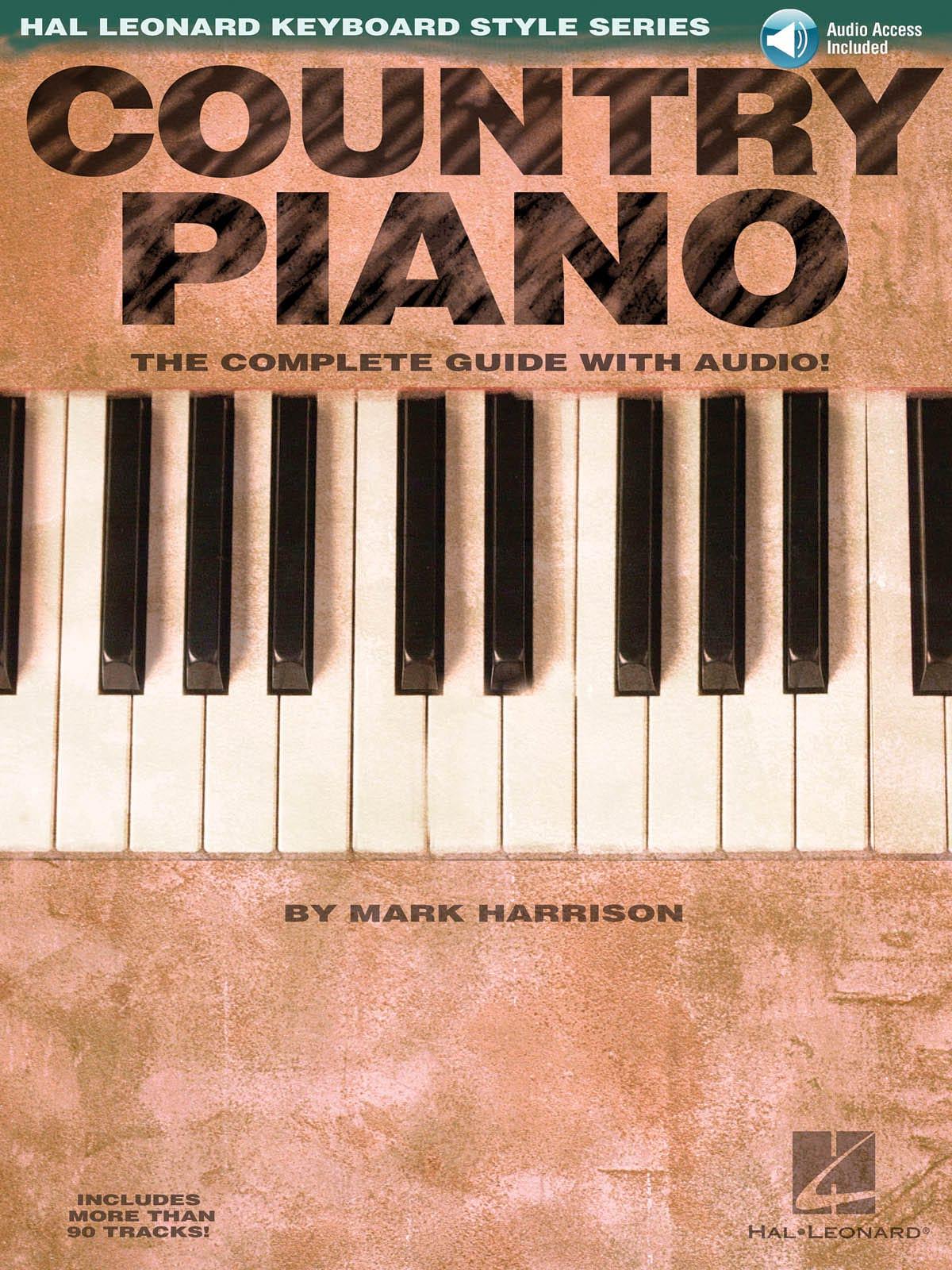 Country Piano - Mark Harrison - Partition - laflutedepan.com
