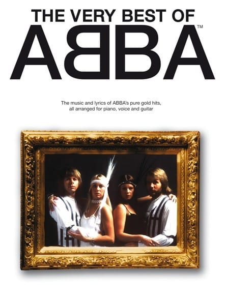 ABBA - The Very Best Of Abba Grand Format - Partition - di-arezzo.com