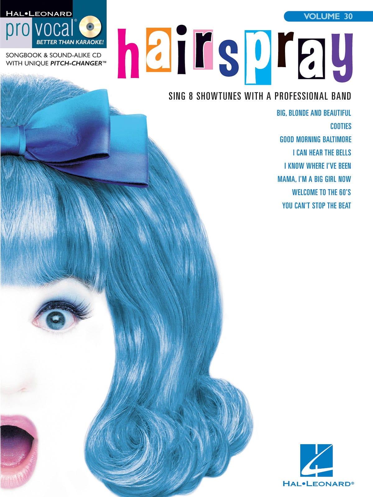 Marc Shaiman - Edición de volumen 30 de Pro Vocal para mujeres - Hairspray - Partition - di-arezzo.es