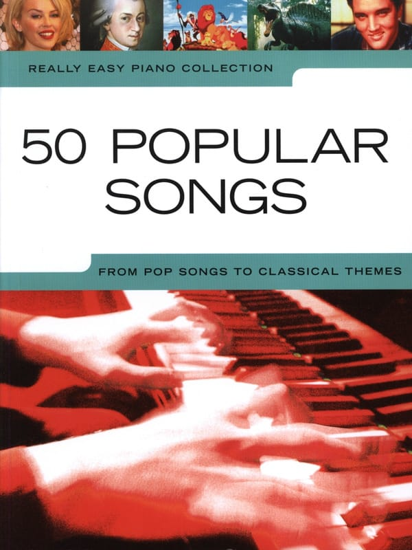 - Really easy piano - 50 Popular songs from pop songs to classical themes - Partition - di-arezzo.co.uk