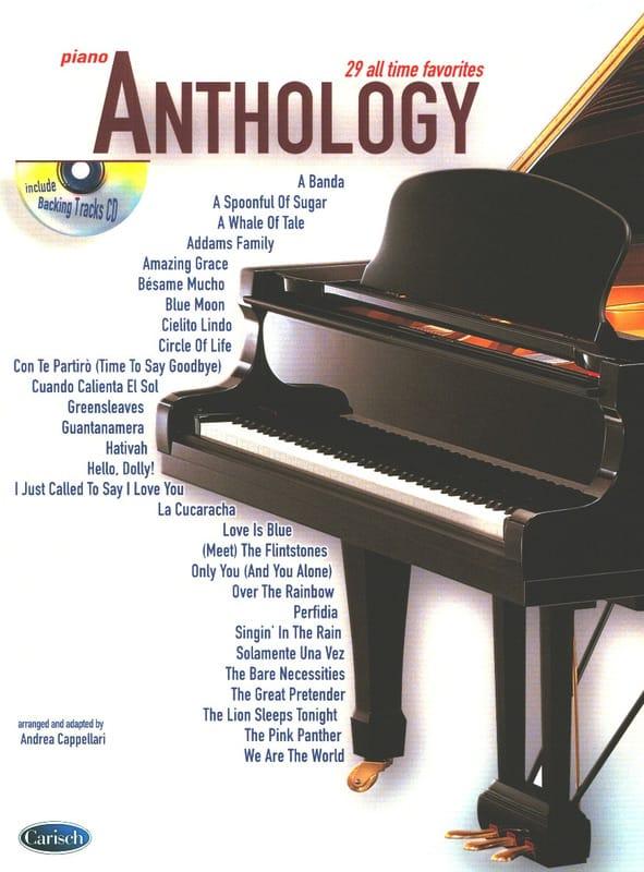 Anthology Volume 1 - Partition - Pop / Rock - laflutedepan.com