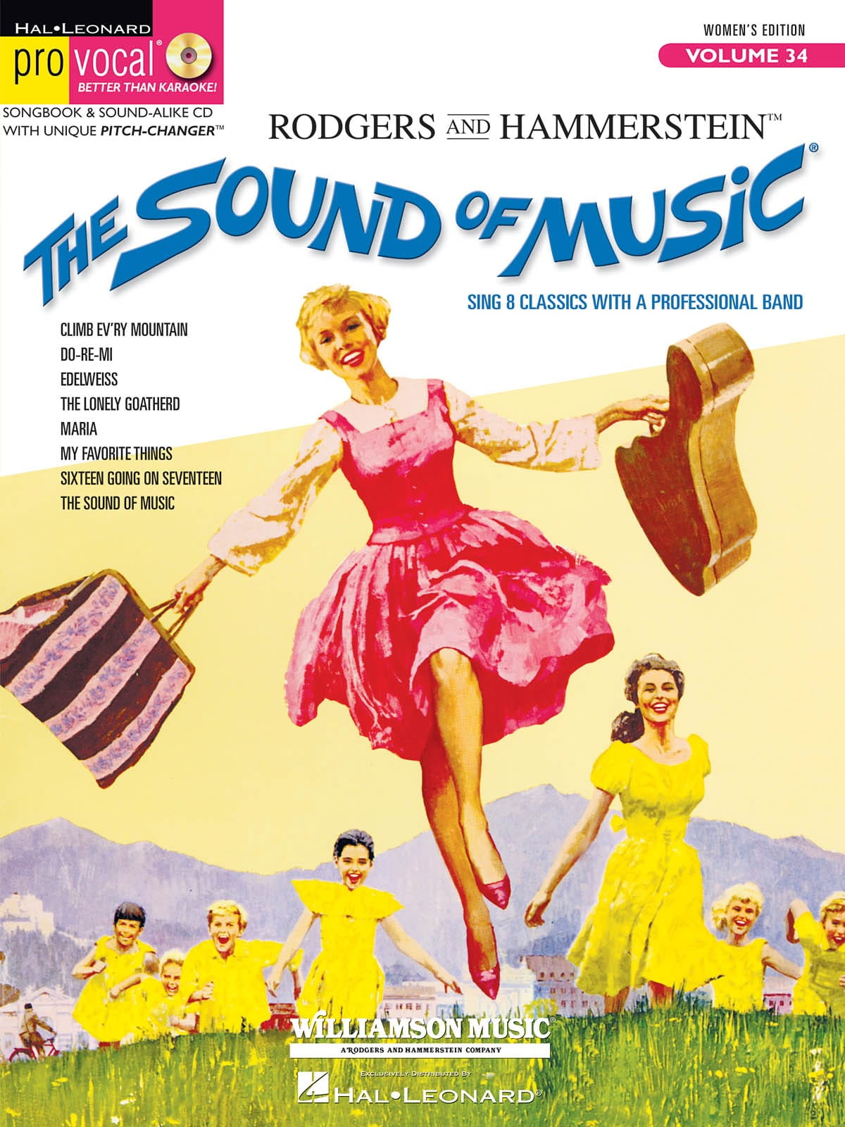Richard Rodgers - Pro Vocal Women's Edition Volume 34 - The Sound of Music - Partition - di-arezzo.com