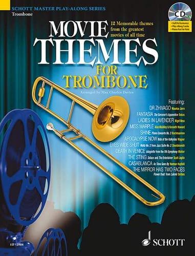 Movie Themes For Trombone - Partition - laflutedepan.com