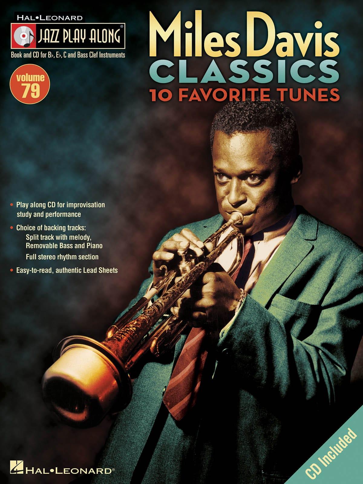 Miles Davis - Jazz play-along volume 79 - Miles Davis Classics - Partition - di-arezzo.co.uk