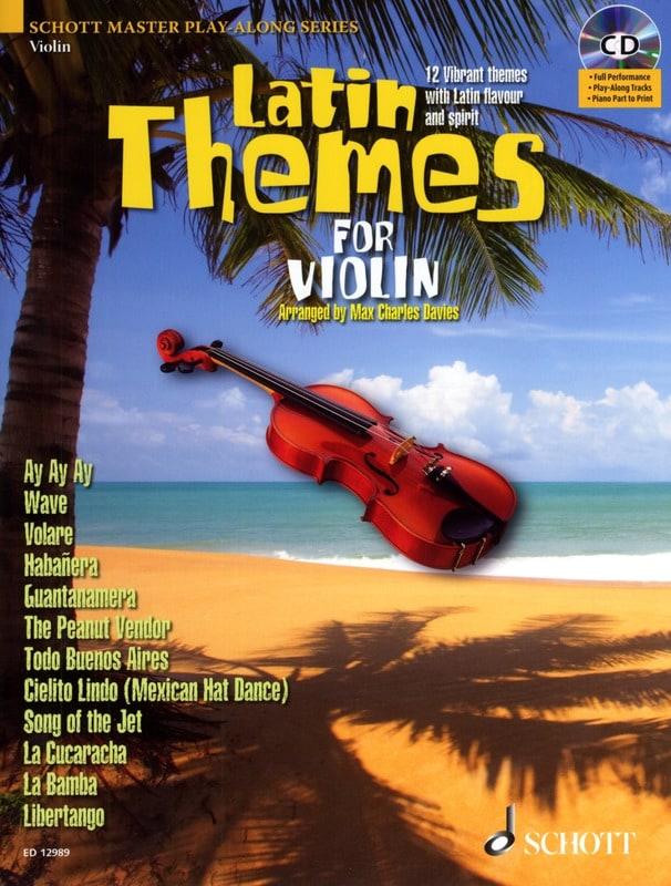 Latin themes - Partition - Violon - laflutedepan.com