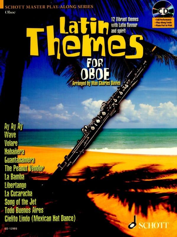 Latin themes for oboe - Partition - Hautbois - laflutedepan.com