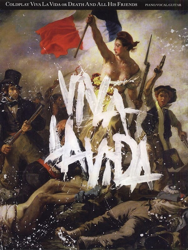 Coldplay - Viva la Vida Gold Death And All His Friends - Partition - di-arezzo.co.uk