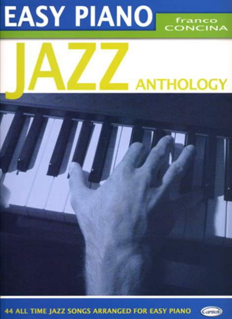 - Easy Piano Jazz Anthology - Partition - di-arezzo.com