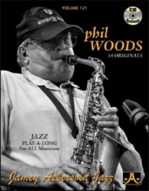 Volume 121 - Phil Woods - METHODE AEBERSOLD - laflutedepan.com