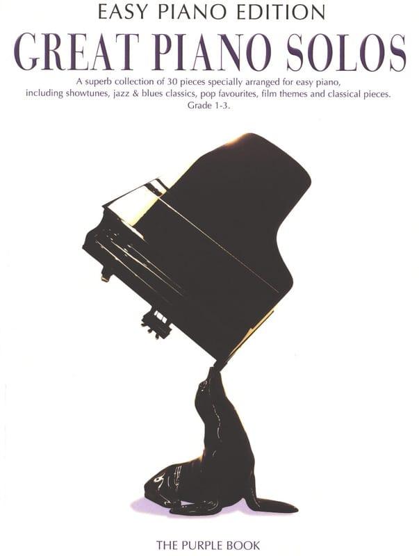 - Great Piano Solos - The Purple Book Easy Piano Edition - Partition - di-arezzo.co.uk