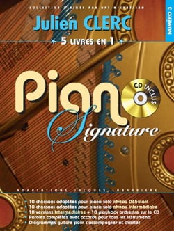 Piano signature numéro 3 - Julien Clerc - Partition - laflutedepan.com