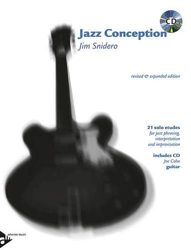 Jim Snidero - Jazz Design - 21 Solos Studies - Partition - di-arezzo.com