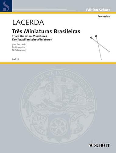Três Miniatures Brasileiras - Osvaldo Lacerda - laflutedepan.com