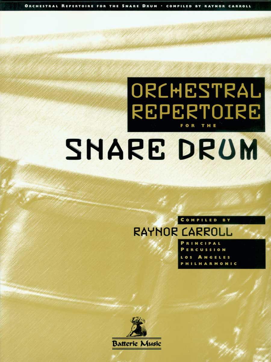- Orchestral repertoire for the snare drum - Partition - di-arezzo.co.uk