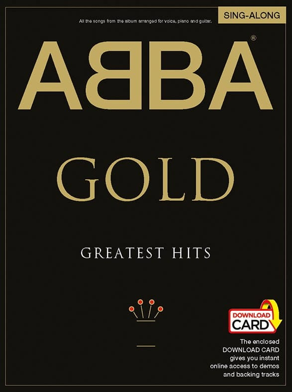 ABBA - Gold Greatest Hits Sing-Along - Partition - di-arezzo.co.uk