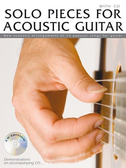 Solo Pieces For Acoustic Guitar - Partition - laflutedepan.com