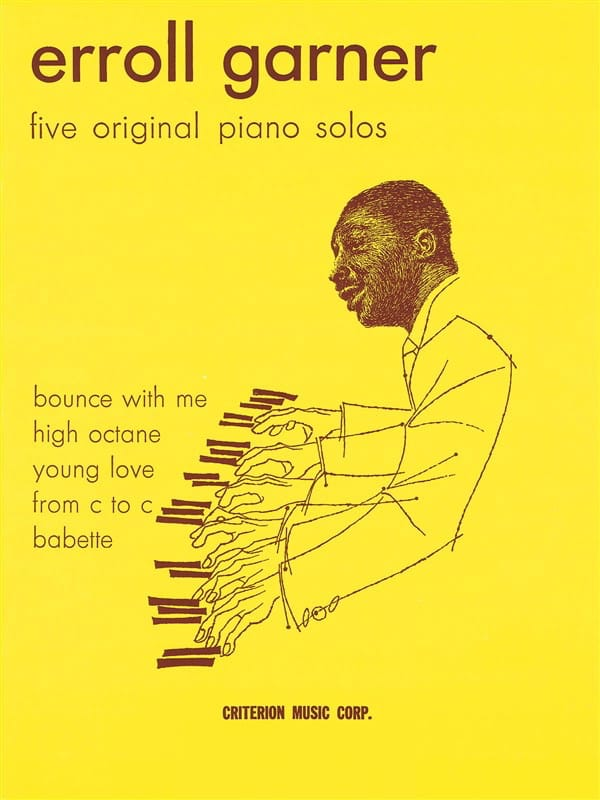 Erroll Garner - Five Original Piano Solo Book 1 - Partition - di-arezzo.co.uk