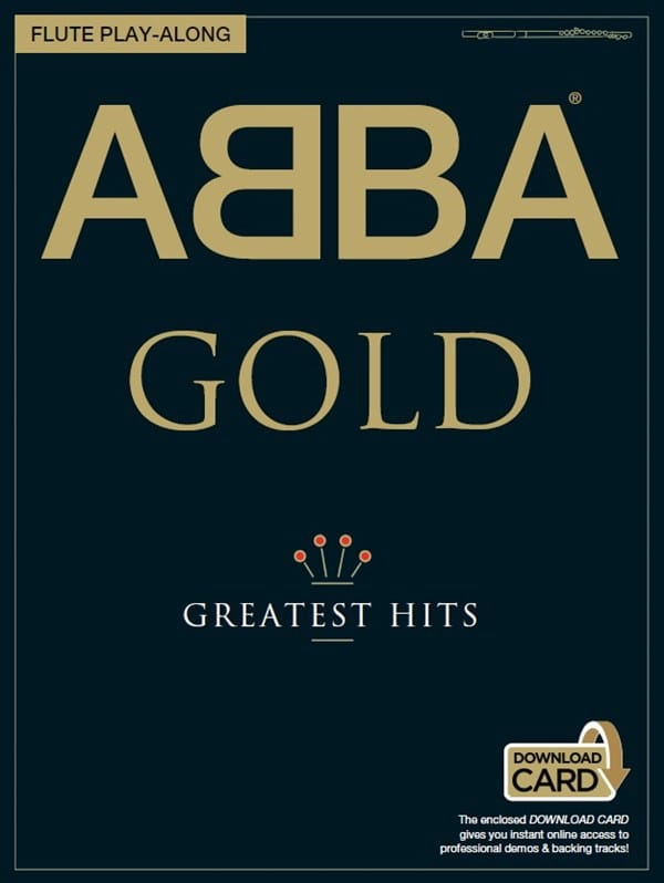 ABBA - Abba Gold Greatest Hits Flute Play Along - Partition - di-arezzo.com