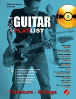 Guitar Playlist Volume 1 - Partition - Guitare - laflutedepan.com