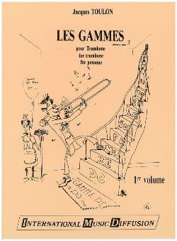 Jacques Toulon - Los rangos del primer volumen del Trombone - Partition - di-arezzo.es