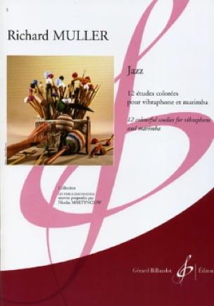 Jazz - 12 Etudes Colorées - Richard Muller - laflutedepan.com