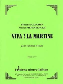 Calcoen Sébastien / Nierenberger Michel - Viva! Martine - Partition - di-arezzo.com