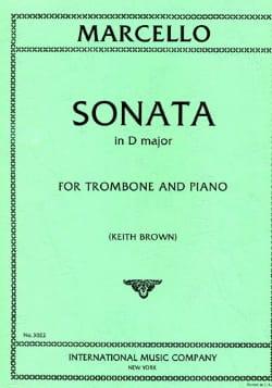 Sonate en Ré Majeur - Benedetto Marcello - laflutedepan.com