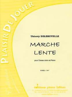 Marche lente - Thierry Deleruyelle - Partition - laflutedepan.com