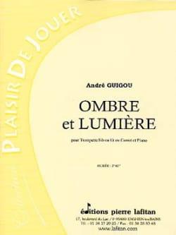 Ombre et lumière - André Guigou - Partition - laflutedepan.com