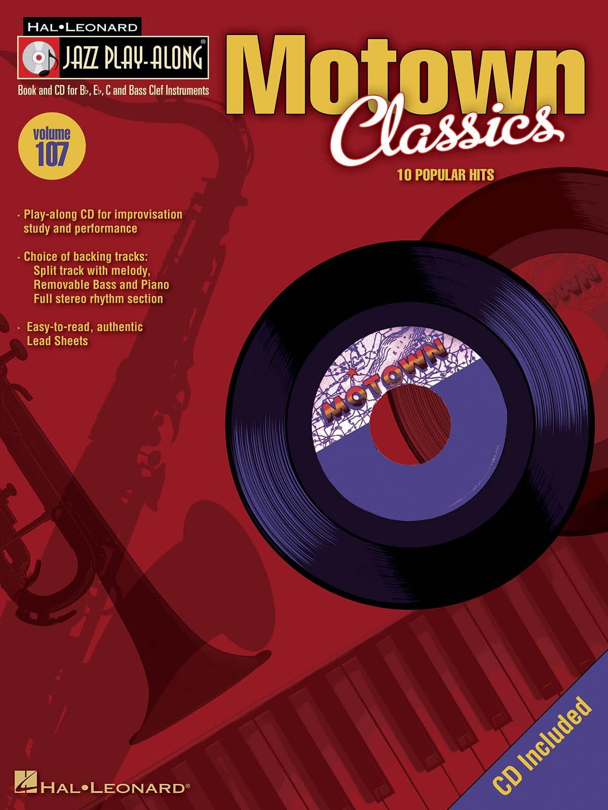 Jazz play-along volume 107 - Motown Classics - laflutedepan.com