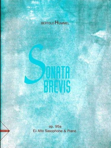 Sonata Brevis Opus 92a - Berthold Hummel - laflutedepan.com