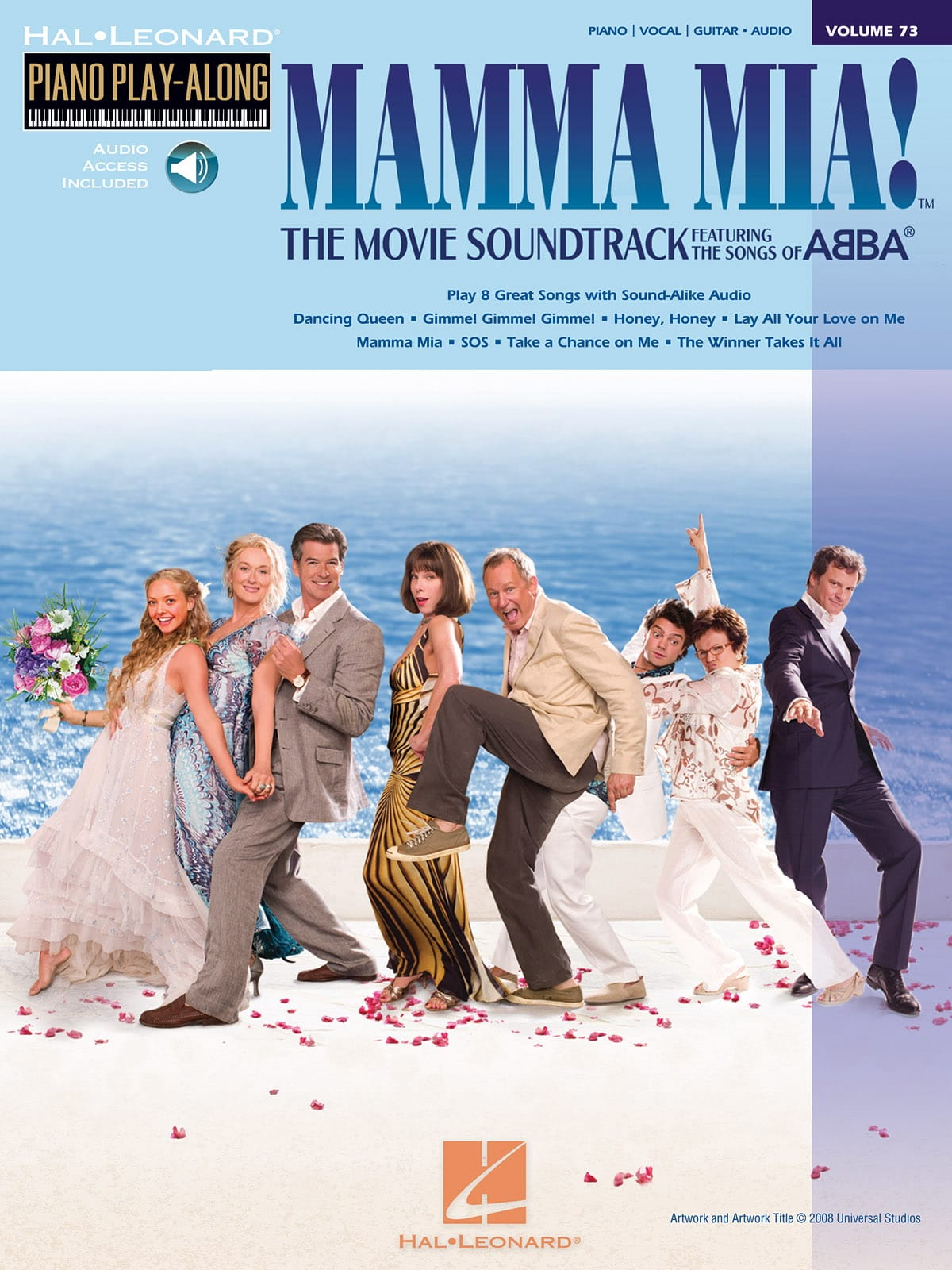 ABBA - Piano Play-Along Volume 73 - Mamma Mia! The Movie - Partition - di-arezzo.co.uk